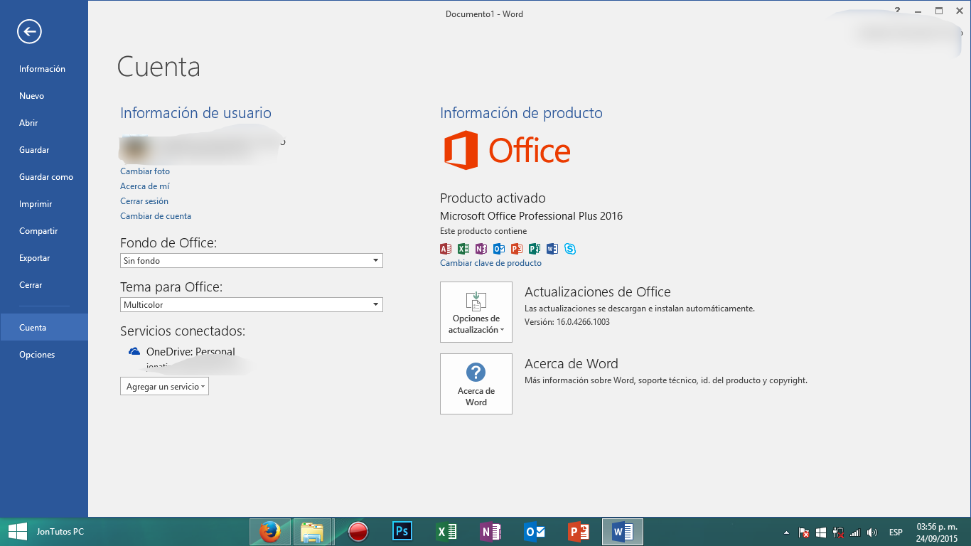 Microsoft Office ProPlus 2016
