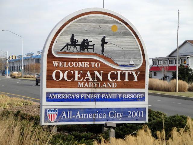 Ocean City Maryland In November