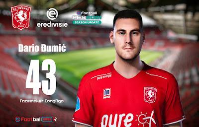 PES 2021 Faces Dario Đumić by CongNgo