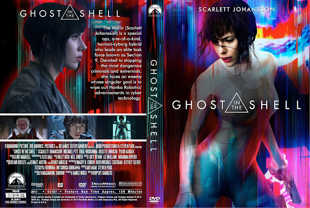 Ghost In The Shell DVD Cover