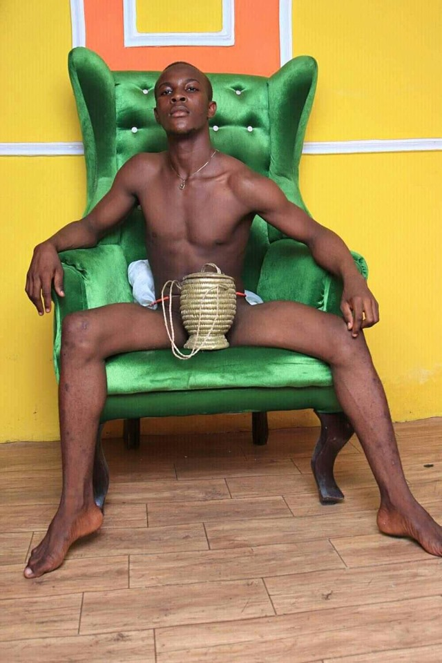 """This I Was Born and This How I Will Die"" Man Storm Social Media with Nude Photos"