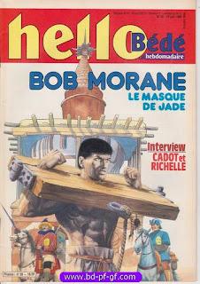 Bob Morane, sur BD-PF-GF, Loverval