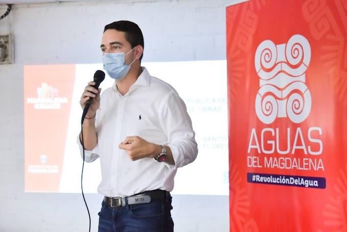 """""""Seremos garantes de que cada peso invertido genere un beneficio para la comunidad"""": Gerente Aguas del Magdalena"""