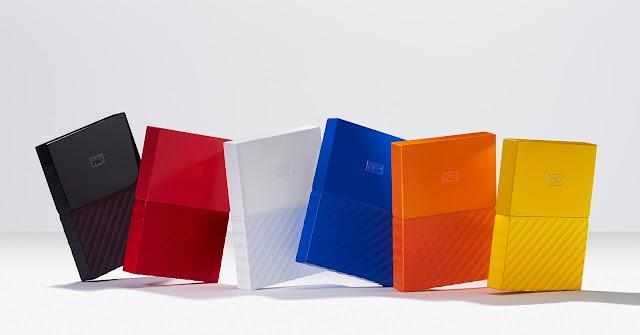 Western Digital presenta el nuevo diseño de los icónicos discos duros My Passport y My Book