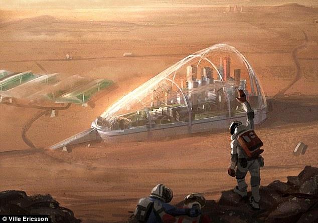 Ερευνητές εντόπισαν Λίμνες Με Αλάτι Στο Υπέδαφος Του Πλανήτη Άρη - Μπορεί Να Διατηρήσει Ζωή