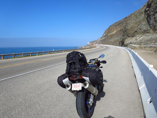 Aprilia Tuono Malibu Coast