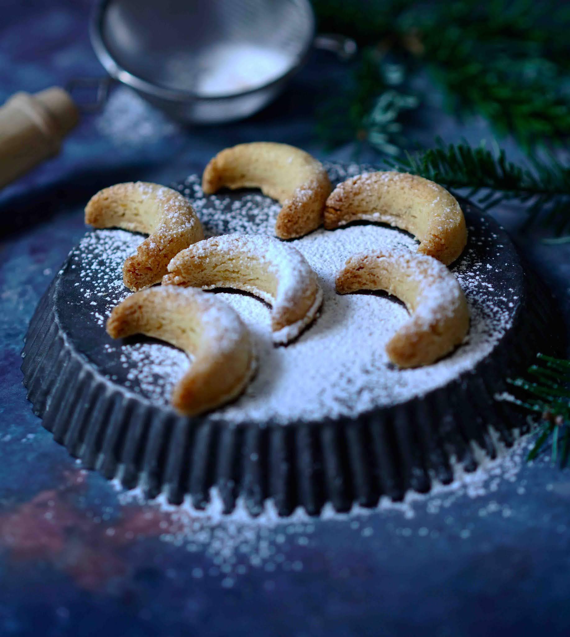 bredele aux noisettes , gâteaux de l' Avent