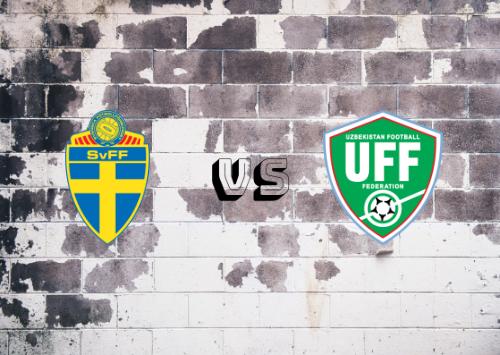 Suecia vs Uzbekistán  Resumen