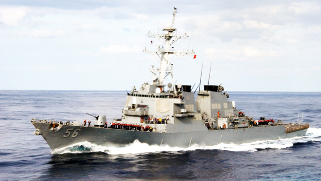 Khu trục hạm USS John S. McCain (DDG-56) Ảnh (Wikipedia)