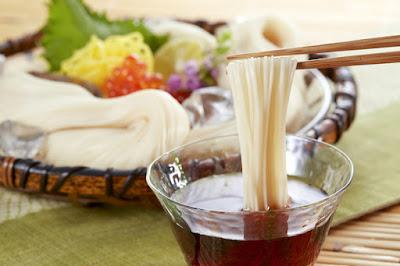 Makanan Soumen Jepang