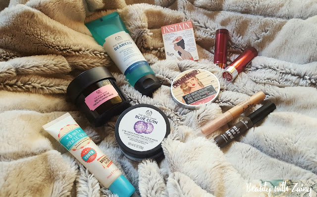 april, april favourites, april beauty favourites, beauty favourites, beauty, beauty blog, beauty blogger, skincare, skincare blog, skincare blogger, makeup blog, makeup blogger, cruelty free products, makeup pictures, skin care pictures, the body shop, the body shop mask, the body shop pictures, the body shop seaweed cleanser, the body shop skincare, seaweed, rose mask, scrub, exfoliate, dirty works, dirty works serum, serum, face serum, essence, essence cosmetics, brow gel, brow gel pictures, yardley, yardley concealer, concealer, cream concealer, highlight, makeup highlight. cult favourite, the balm, the balm cosmetics, the balm cosmetics pictures, mary-lou manizer, mary-lou manizer pictures, mary-lou manzier the balm cosmetics pictures, instain the balm cosmetics, swiss dot the balm cosmetics, pink blush, peach blush, pink blush pictures, peach blush pictures, makeup lover, makeup addict, makeup porn, makeup pictures, essence cosmetics, essence cosmetics sheer and shine lipsticks, essence cosmetics lipsticks, lipsticks, lipstick pictures, essence cosmetics pictures