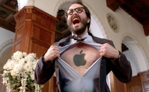 marketing de defensores apple