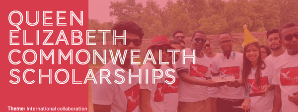 Queen Elizabeth Commonwealth Scholarships 2020 for Masters