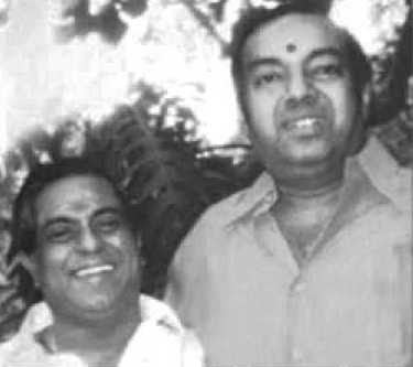 Image result for kannadasan with Anna