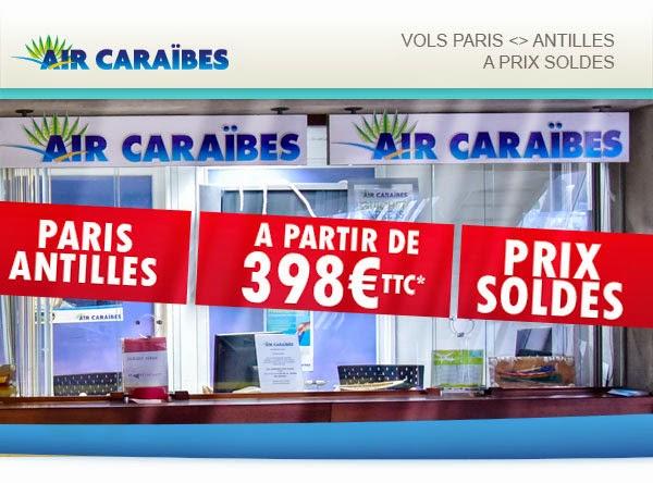 les antilles 398 euros promo air caraibes air bons plans promos voyages. Black Bedroom Furniture Sets. Home Design Ideas