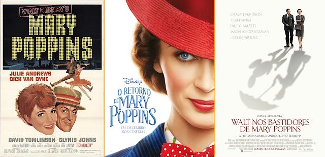Combo: Walt e Mary Poppins