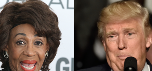 Maxine Waters Is On A Quest To Find Trump A Nickname — It's Not Going Well