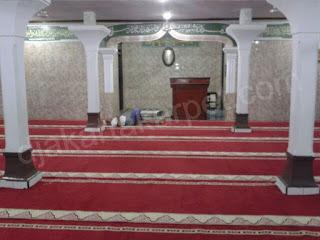 karpet masjid roll yasmin gunung merah