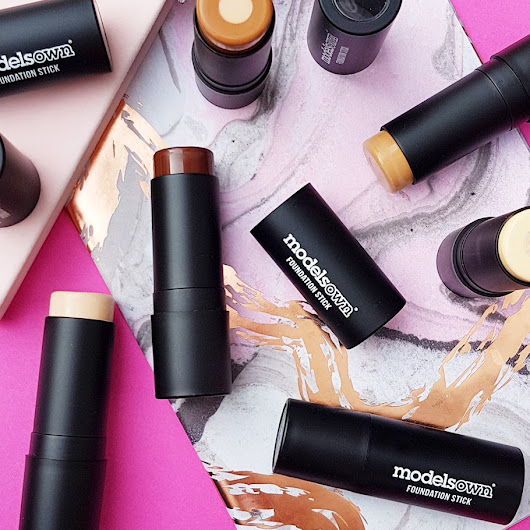 NEW £10 FOUNDATION | MODELS OWN 2-IN-1 PRO FOUNDATION STICK WITH A BUILT-IN PRIMER ALL 15 SWATCHES