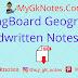 SpringBoard Geography Handwritten Notes PDF
