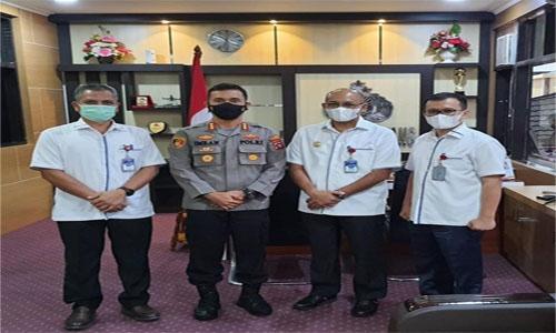 Perumda Air Minum Kota Padang Jalin Kerjasama dengan Kapolresta Padang