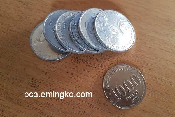 Bolehkah Menabung Dengan Uang Receh di Bank BCA?