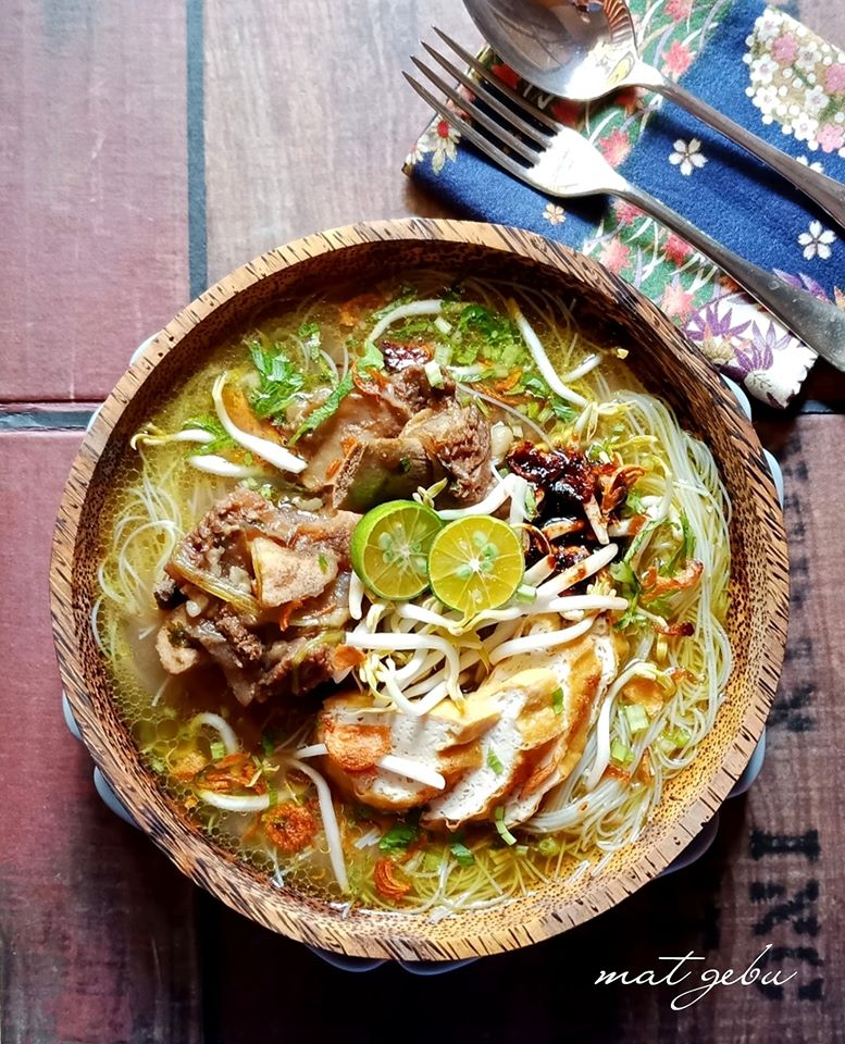 Resipi Mi Hoon Sup Tulang