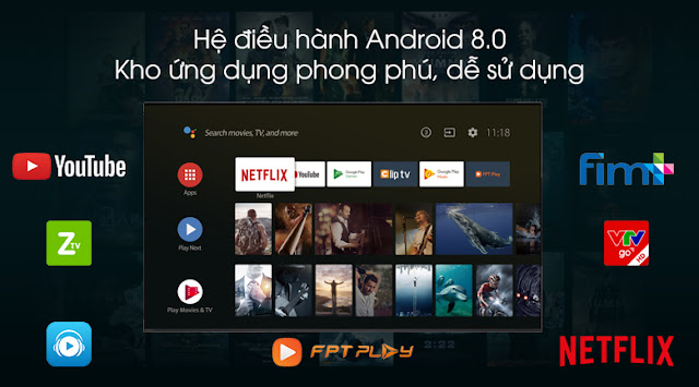 Android Tivi Sony 4K 75 inch KD-75Z9F