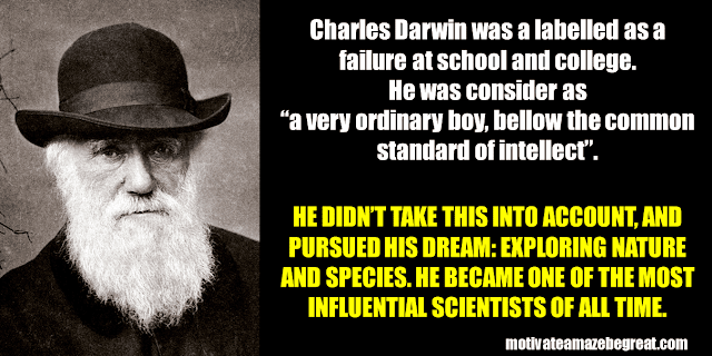 Success Stories From Famous People Who Failed Before Succeeding: Charles Darwin