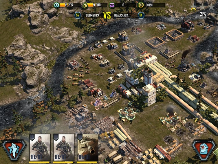 [FREE] Download War Commander: Rogue Assault for Android