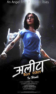 Alita Battle Angel 2019 Dual Audio Hindi 720p WEB-DL ESub 1.1GB