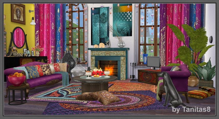 My Sims 4 Blog: Boho Chic House by Tanitas8