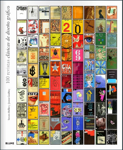 100 Revistas clásicas de diseño gráfico BLUME