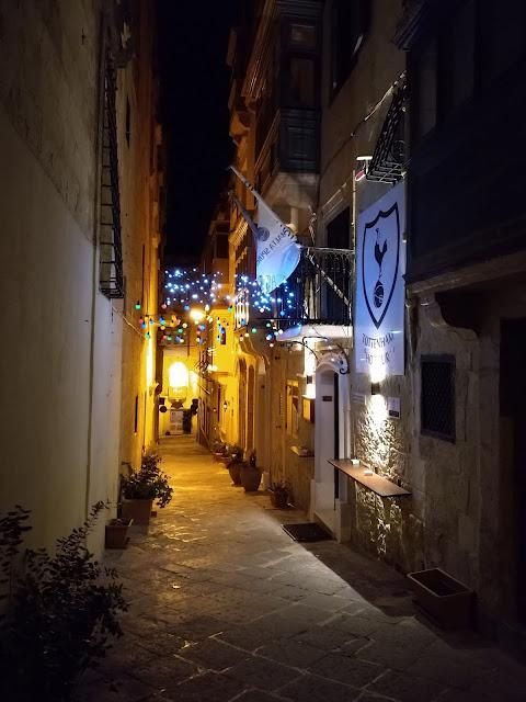 A quiet street in Valletta - Sincerely Loree