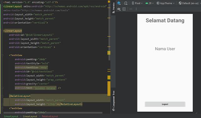 Cara Membuat Aplikasi Form Login Android Studio Tanpa Database