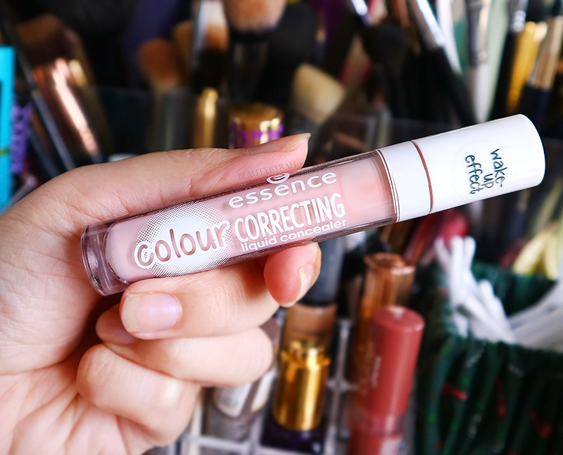 Essence Colour Correcting Liquid Concealer in 10 Pastel Pink Review