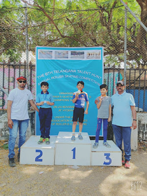 skating children in Hyderabad competitions
