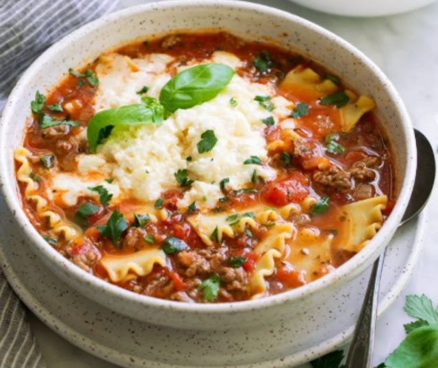 Lasagna Soup Recipes