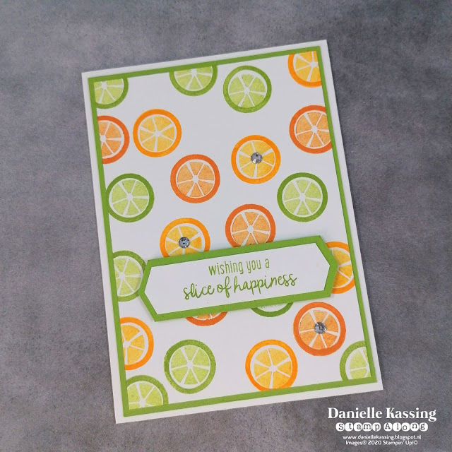 Stampin' Up! Cute Fruit
