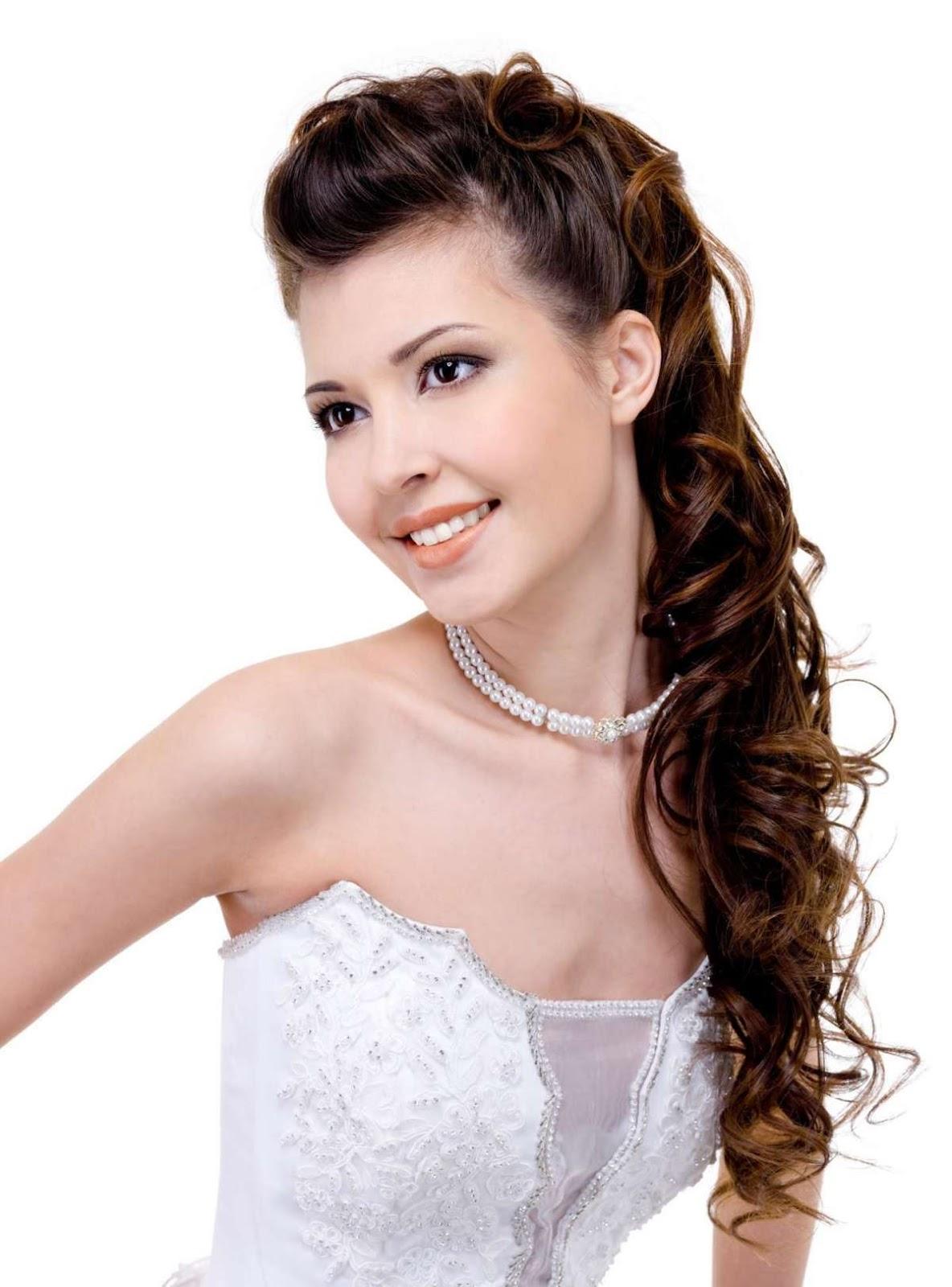 Peinados de novia sencillos ¡21 Hermosos Look Juveniles! | Somos Novias