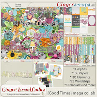 Kit : Good Times by GingerBread Ladies