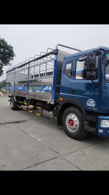Đóng thùng xe tải Veam