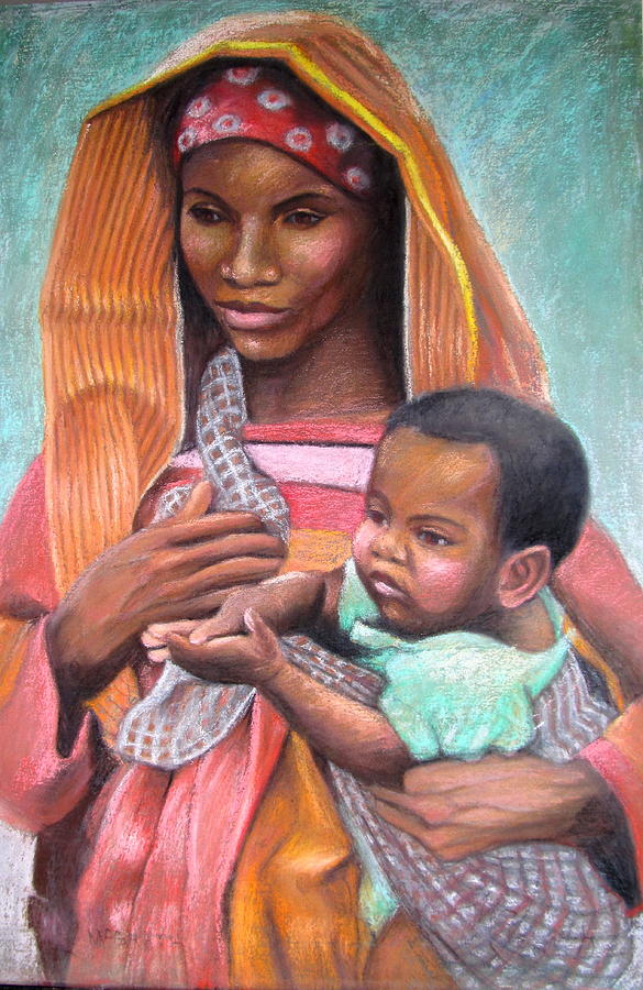 """African Mother"" by Janet McGrath"