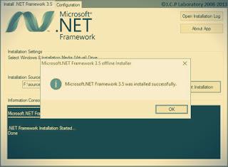 Cara Install .NET Framework 3.5 Secara Offline di windows 8 maupun 10