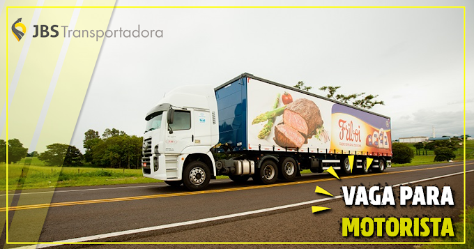 Transportadora JBS abre vagas em Mato Grosso
