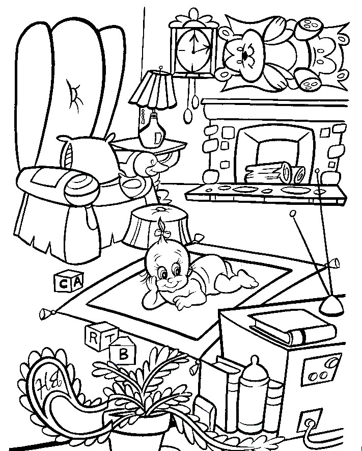 roger rabbit coloring pages - photo#10