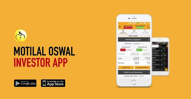 Motilal Oswal Mobile Trading Application Demo | Download | Review
