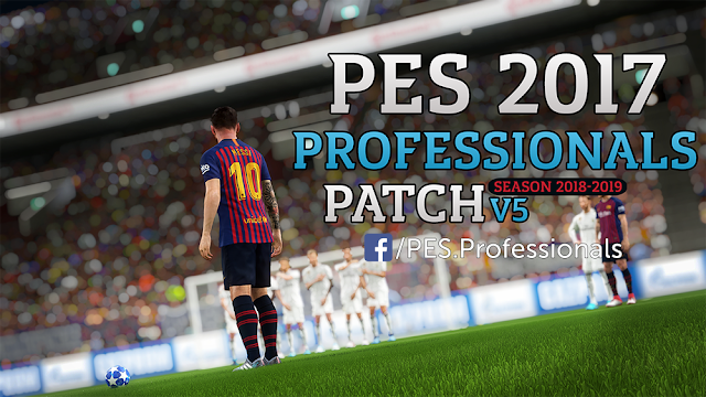 PES 2017 Professionals Patch V5 All In One