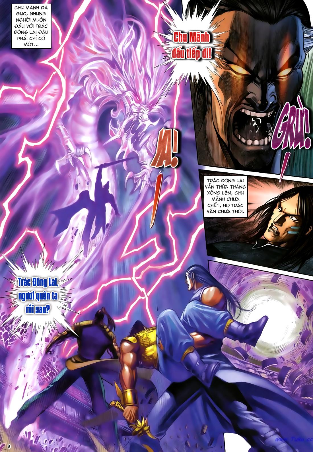 Anh hùng vô lệ Chap 23 trang 9