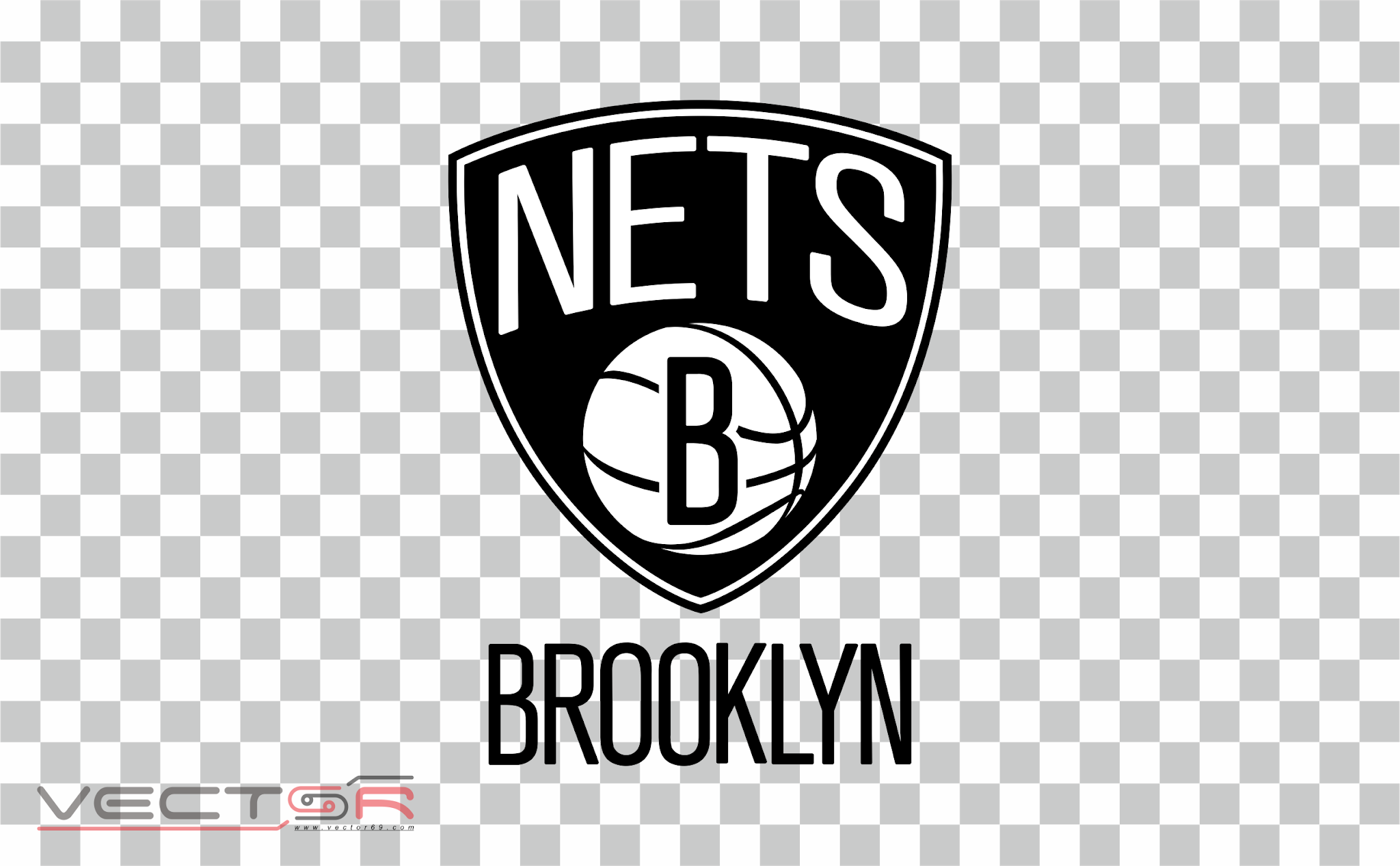 Brooklyn Nets Logo - Download .PNG (Portable Network Graphics) Transparent Images